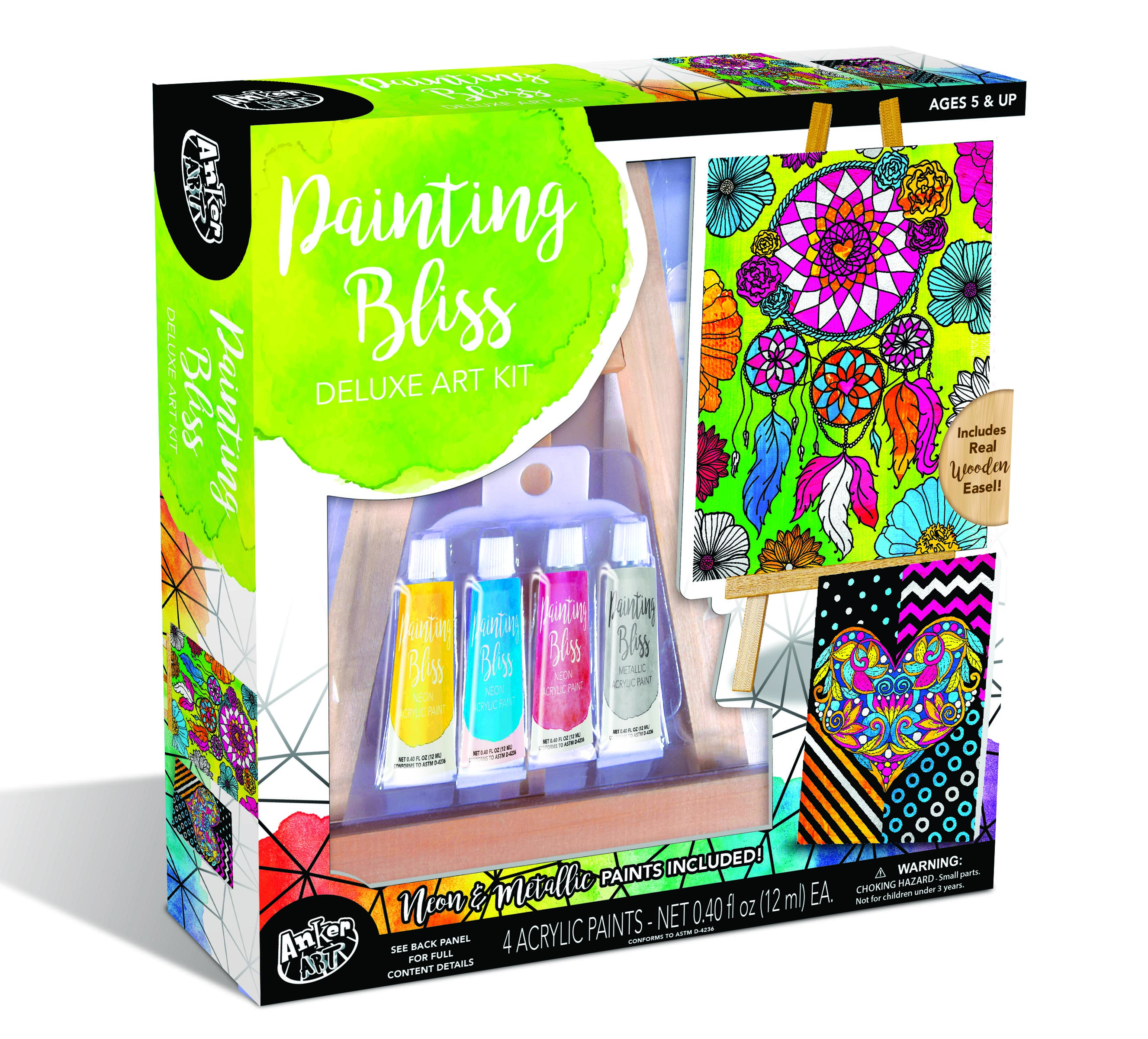 PAINTING BLISS DELUXE ART KIT